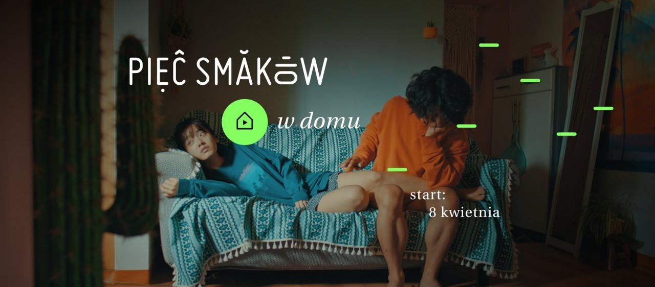 Pięć Smaków w Domu – nowa platforma VOD